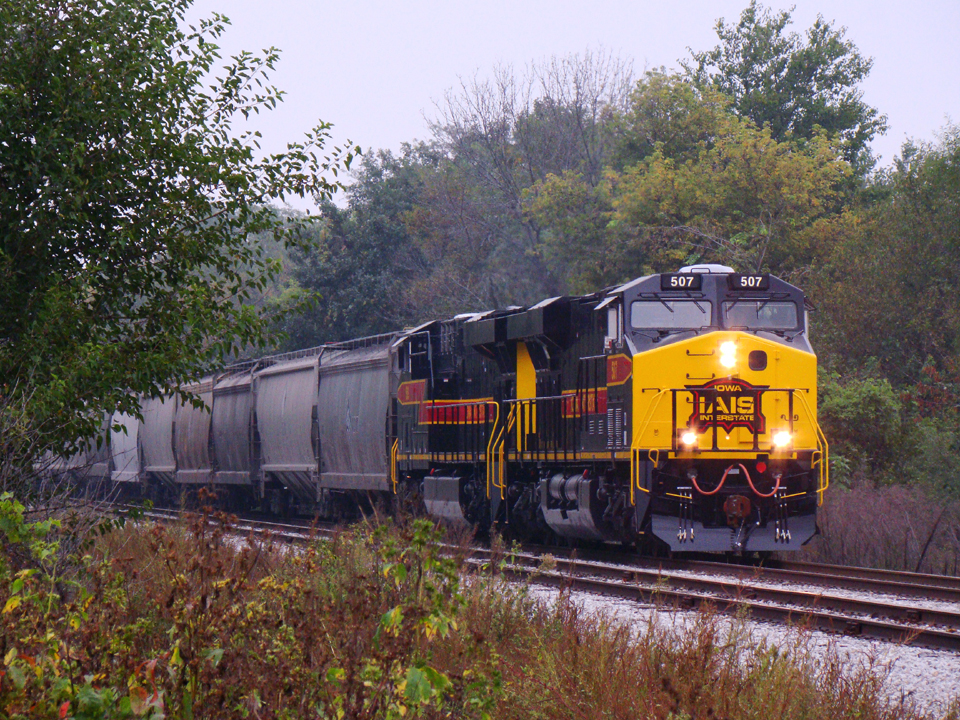 507 and 509 hold the main at North Star waiting for the CBBI. 28-Sept-2008