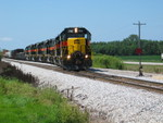 Shoving into the east end of Twin States siding.