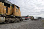 BNSF Detour meets BICB-03 @ 44th St; Rock Island, IL.