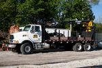 Sterling material handling truck parked at Bureau, IL.