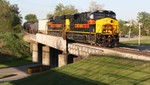 BICB-03 crosses US 6 at Altoona, IA on the old EW main.