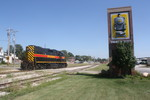 IAIS Grimes Line Extra goes past the Swanson Depot in Clive in August of 2010. Dave Kroeger Photo