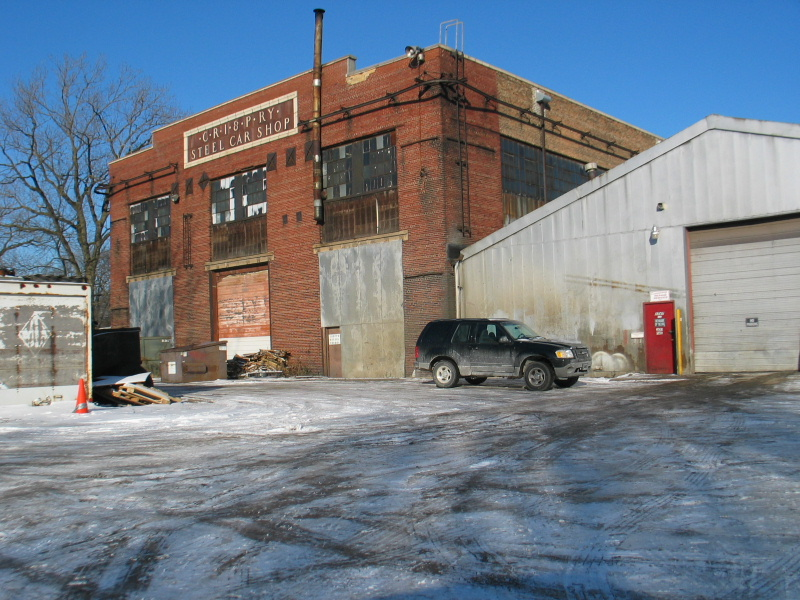 I've showed this building before but it was a topic of discussion recently on the RITS list; this is the south end.