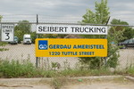 Entrance to Gerdau Steel in Des Moines