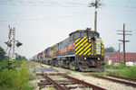 IAIS 800 on CBPE @ 34th St, Moline, IL.  September 5, 1999.
