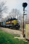 IAIS 413 with RIPE-06 @ Green River, IL.  April 6, 2004.