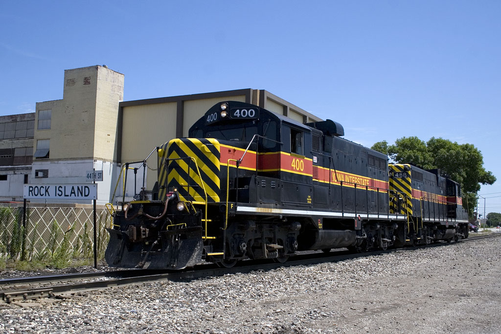 RISW-21 @ 44th St; Rock Island, IL.  July 21, 2008.