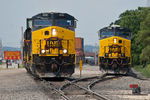 CBBI-12 (512) & RISW-13 (500) @ 44th St; Rock Island, IL.  July 13, 2011.
