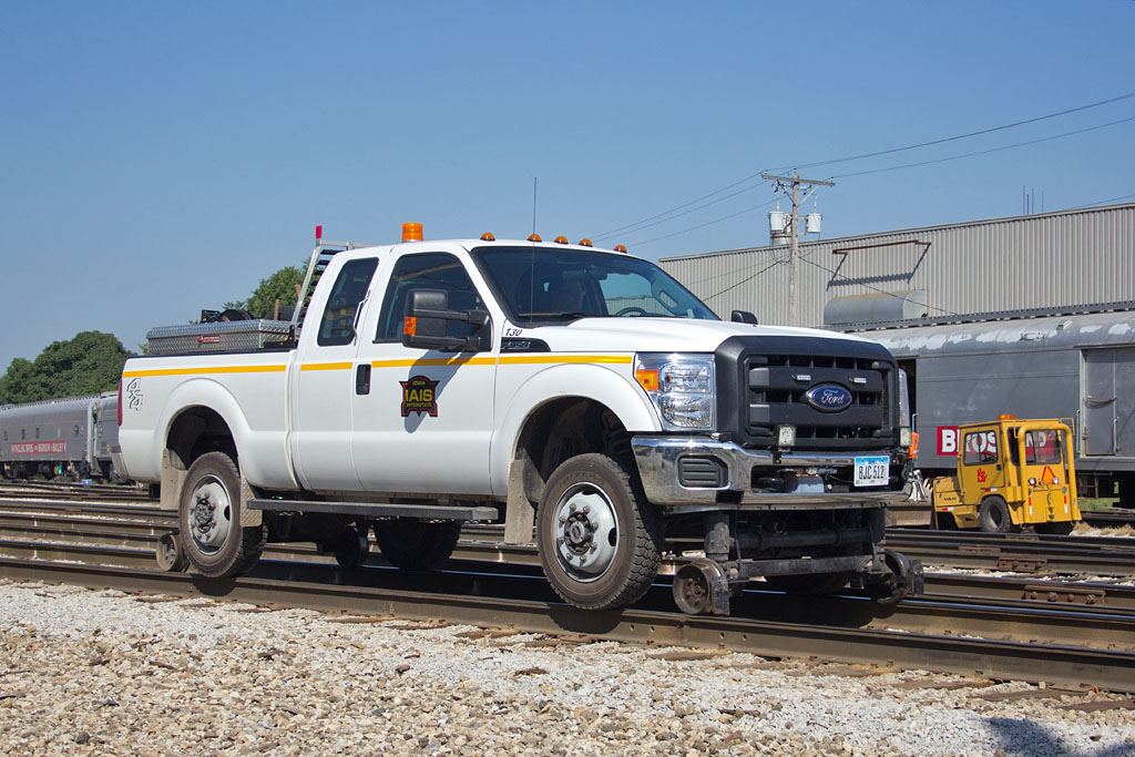 MW301's new Ford F350 @ Rock Island, IL.  August 30, 2013