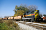IAIS 400 with RISW-23 @ Steel Warehouse; Rock Island, IL.  October 23, 2003.