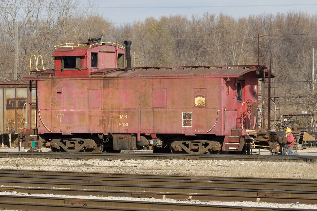 IAIS 9431 @ Rock Island, IL.  November 11, 2009.