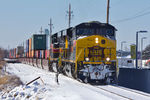 CBBI-22 @ 34th St; Moline, IL.  December 23, 2013