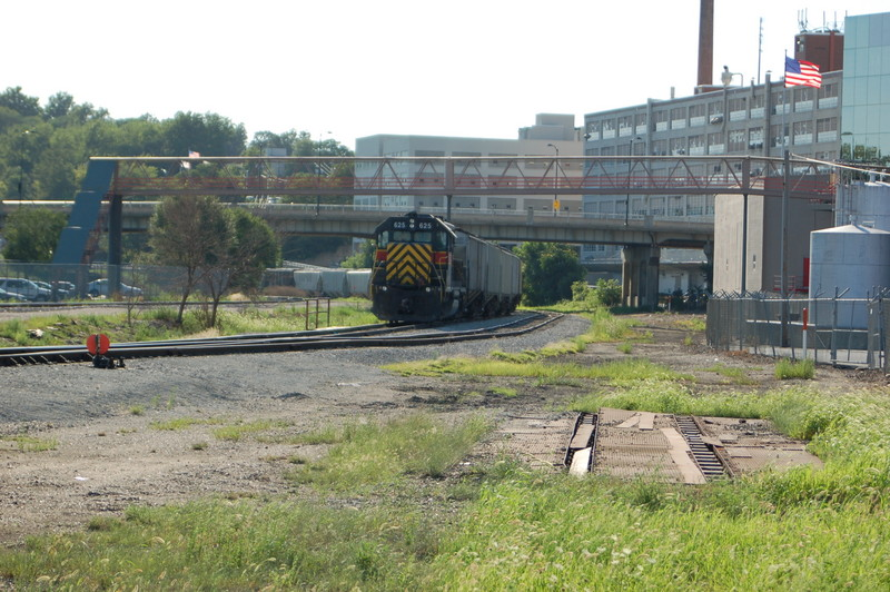 Former NS Track Scale east of yard