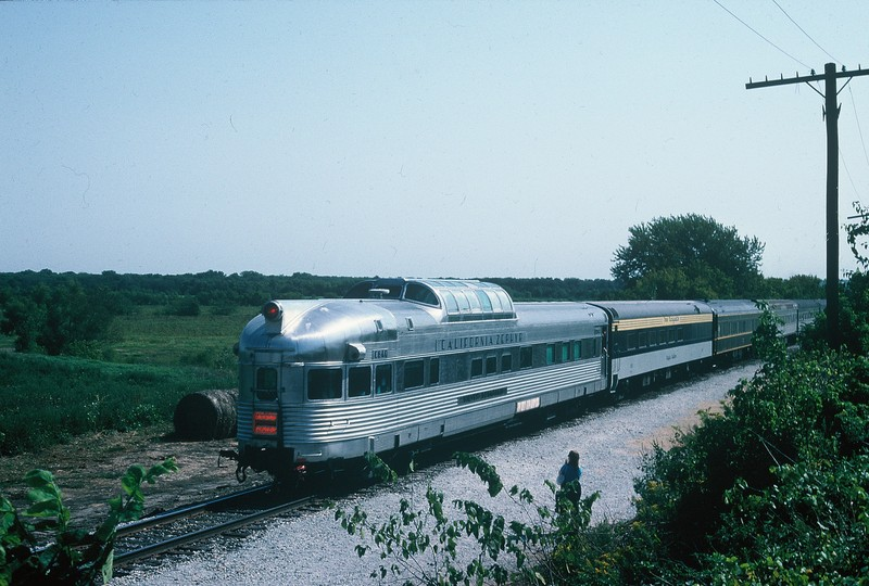 Silver Solarium on the Ag Expo Express at South Amana, 9-10-88.