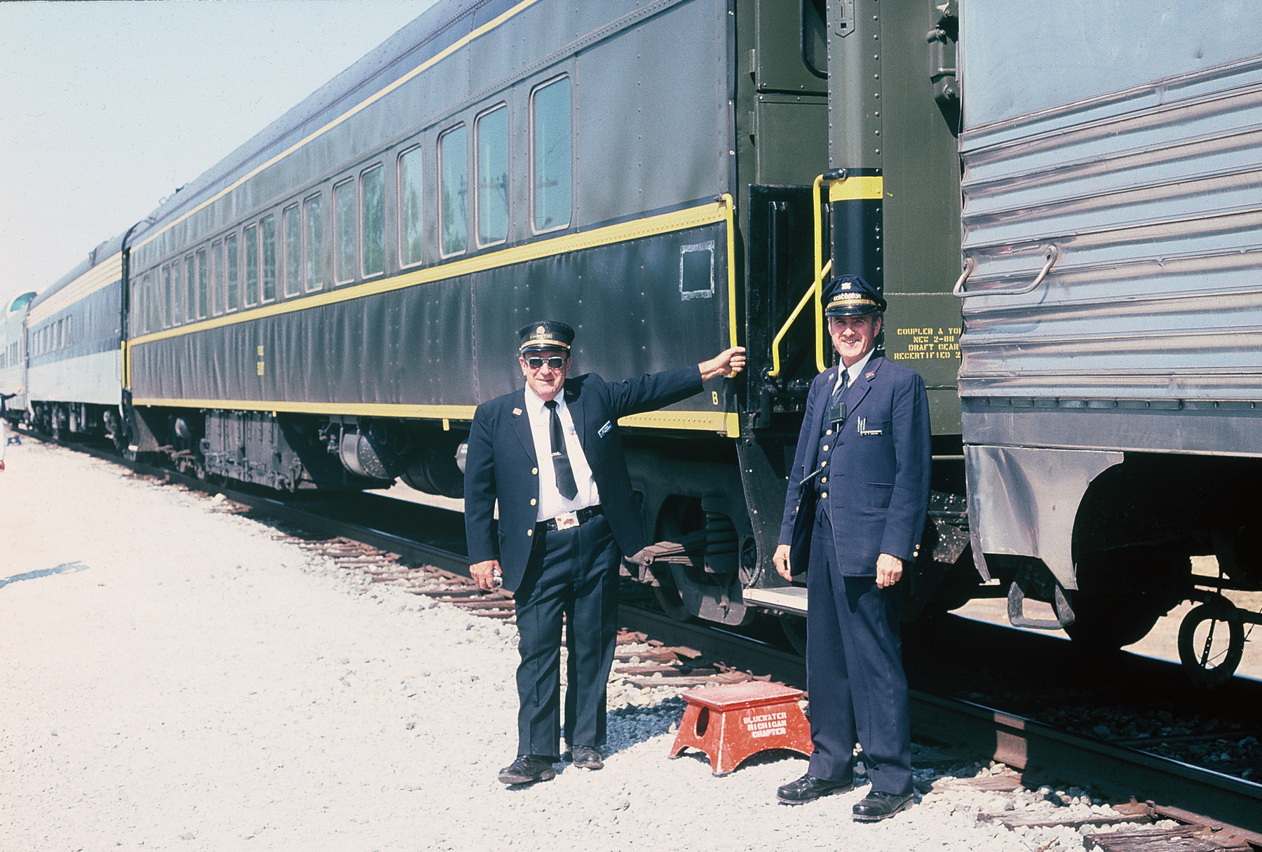 At South Amana, 9-10-88.  Joe Turkal and Russ Owens.