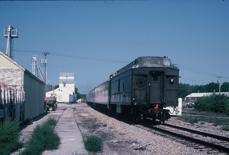 Westbound Ag Expo Express at Oxford, 9-10-88.