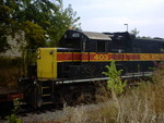 IAIS 403 stopped on the Grimes Line