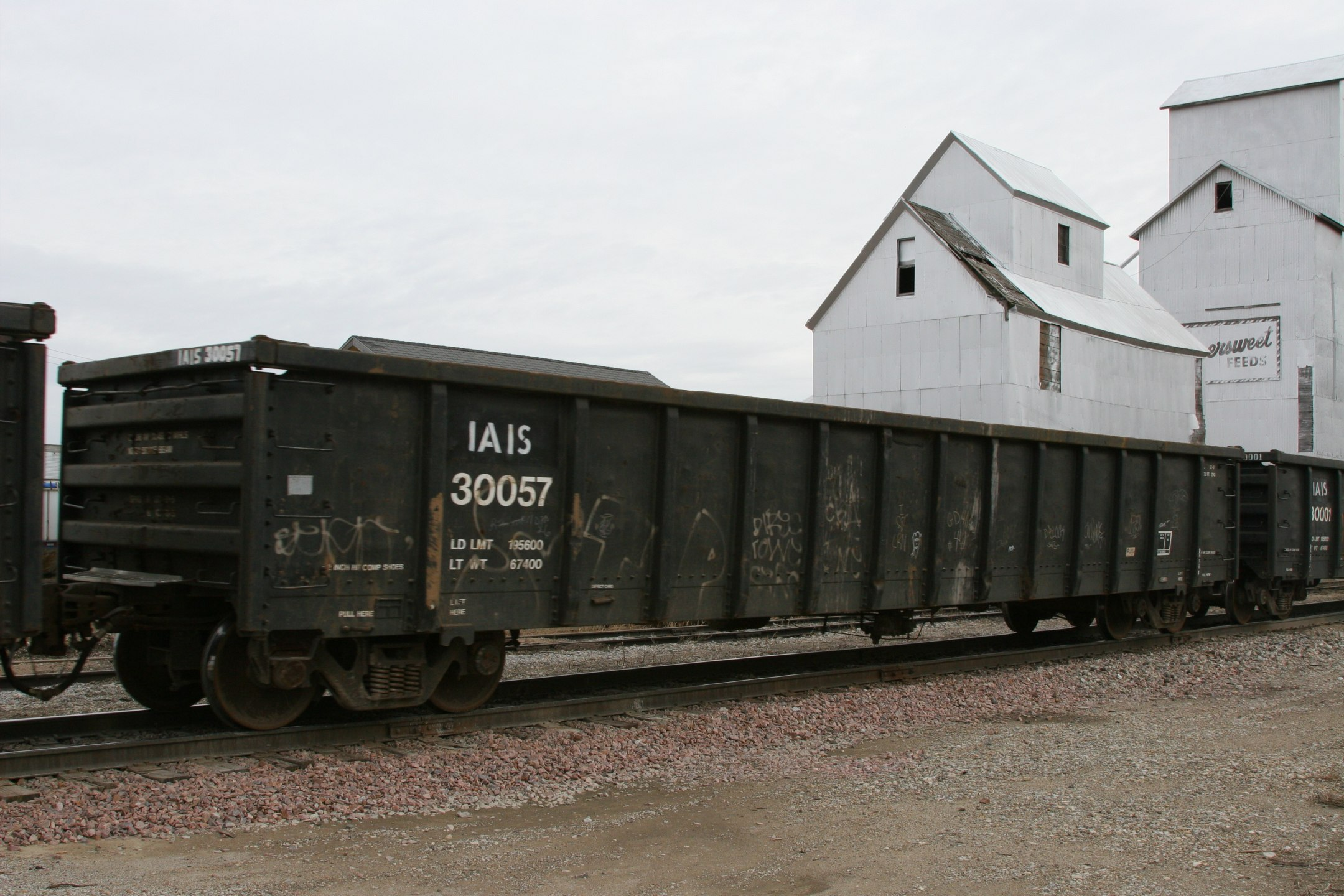 IAIS 30057 in Downey, IA, on 27-Dec-2006