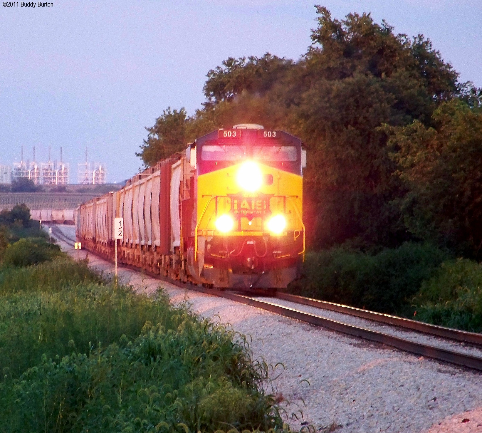 IAIS 503 South departing 900 Interchange Yard