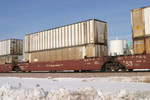 IAIS 55182 C at Walcott, IA, on 23-Dec-2005