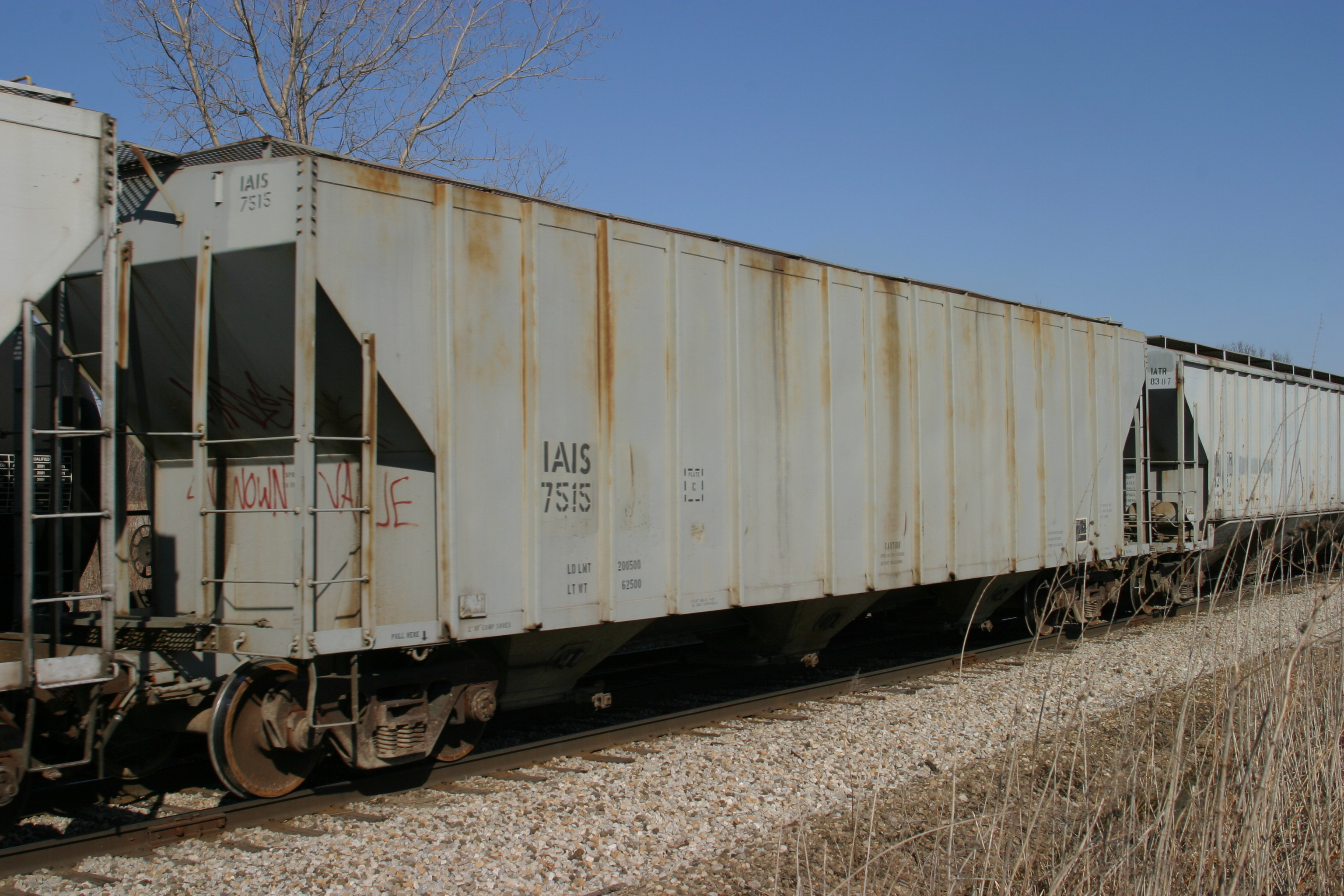 IAIS 7515 at Homestead, IA, on 16-Mar-2005