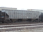 IATR 8233, Council Bluffs, IA - 14Mar2003.  This car was remarked to IAIS 8233 in 2006.