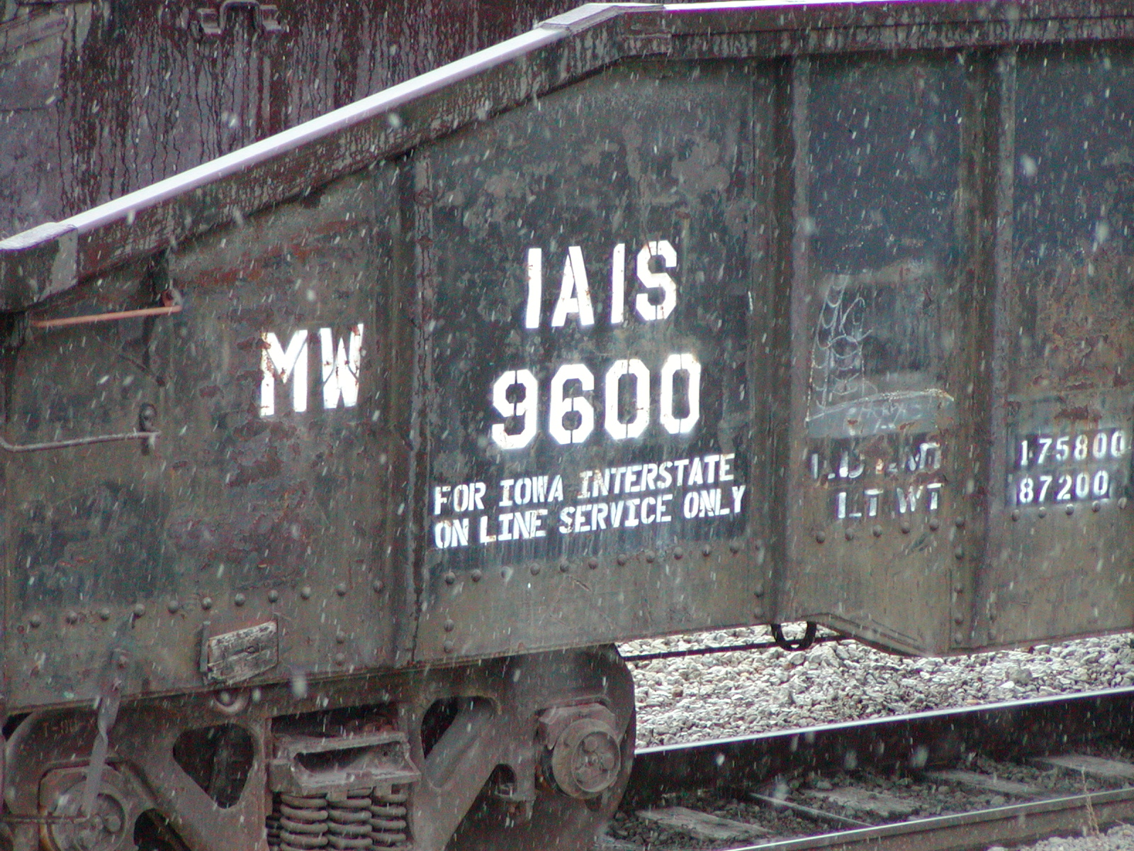 IAIS 9600 at Council Bluffs, IA, on 23-Oct-2002