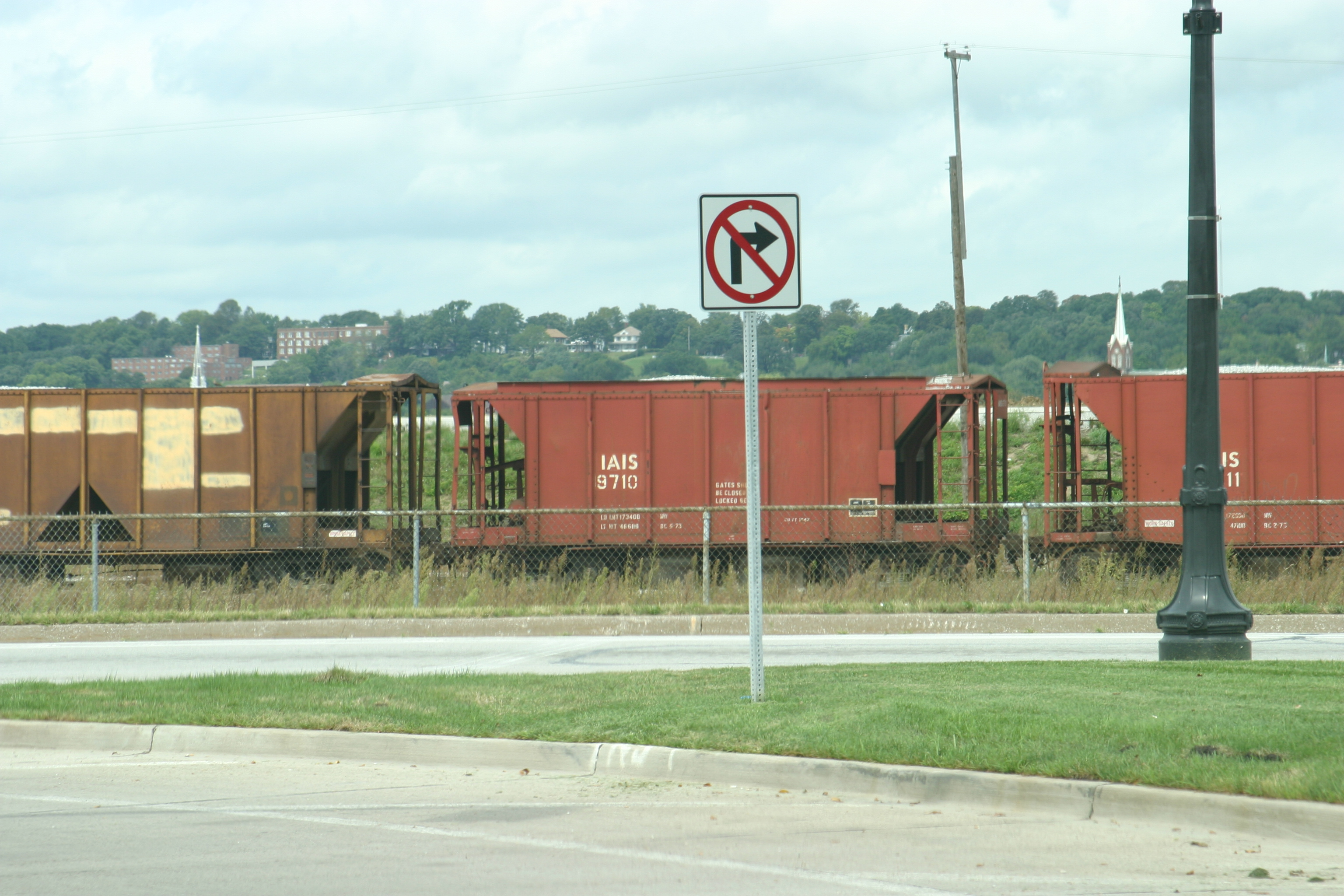 IAIS 9710 at Rock Island, IL, during Aug-2004