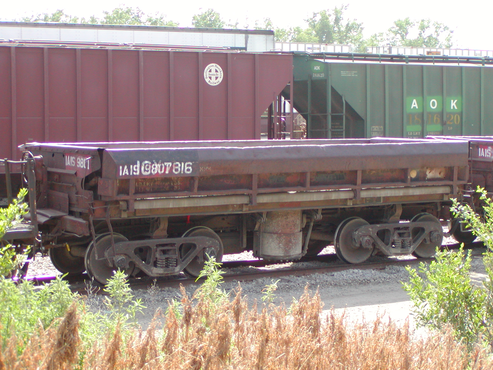 IAIS 9801 at Council Bluffs, IA, on 27-Jun-2003