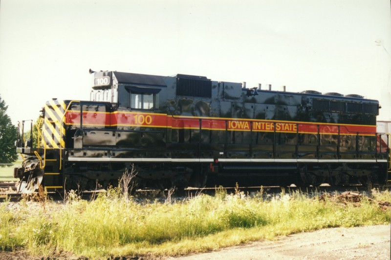 IAIS 100 at Altoona, IA on 24-Jun-1996