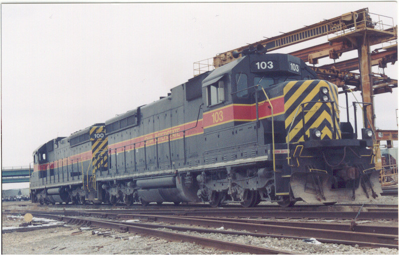 IAIS 100 at Council Bluffs, IA on 09-Nov-2000