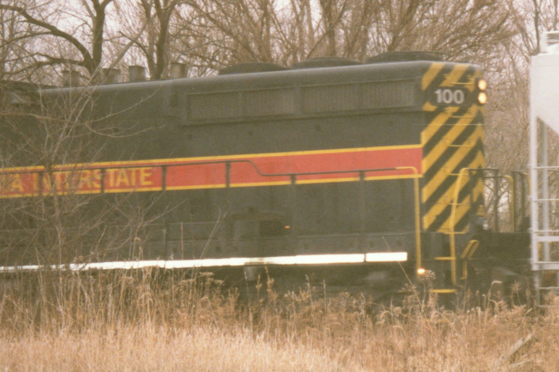 IAIS 100 at Altoona, IA on 30-Nov-1996