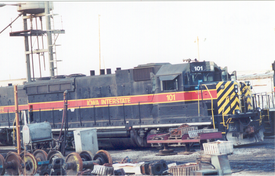 IAIS 101 at Council Bluffs, IA on 16-May-2001