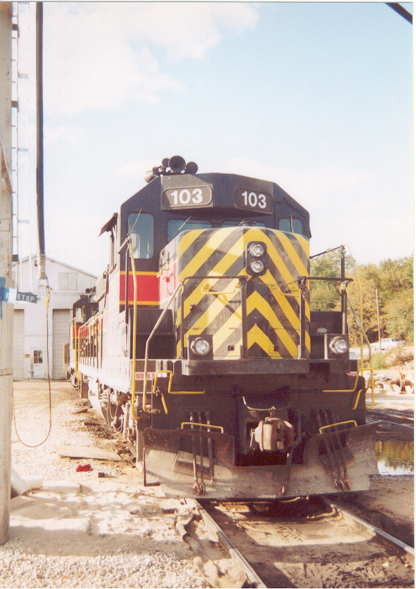IAIS 103 at Council Bluffs, IA on 07-Oct-2000