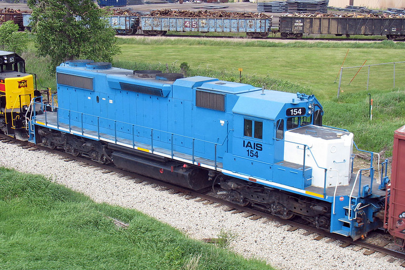 Roster of IAIS 154 in Wilton, IA on 22-May-2007.