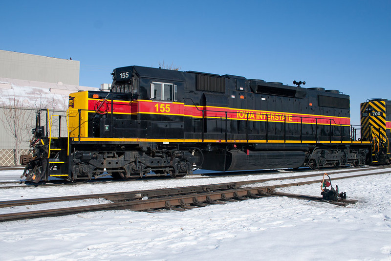 IAIS 155 at Rock Island, IL on 20-Jan-2011.