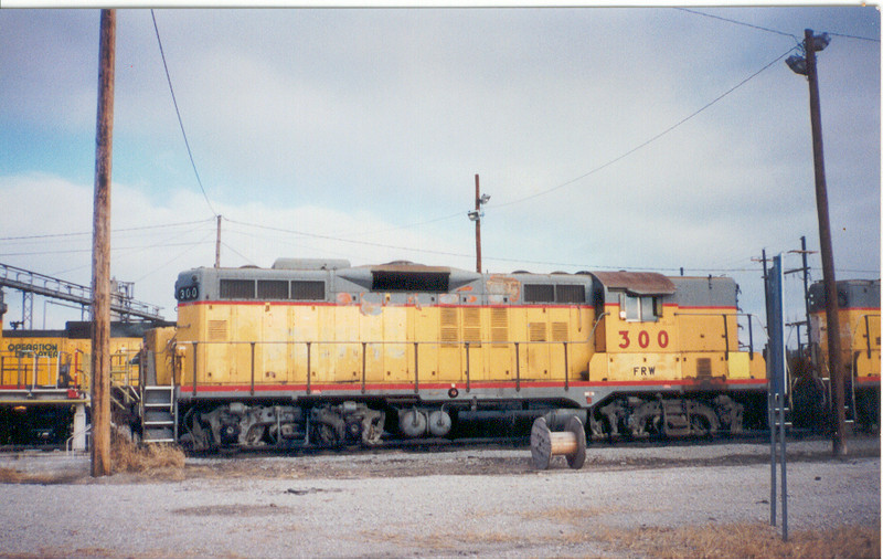IAIS 300 at Council Bluffs, IA on 28-Dec-1995