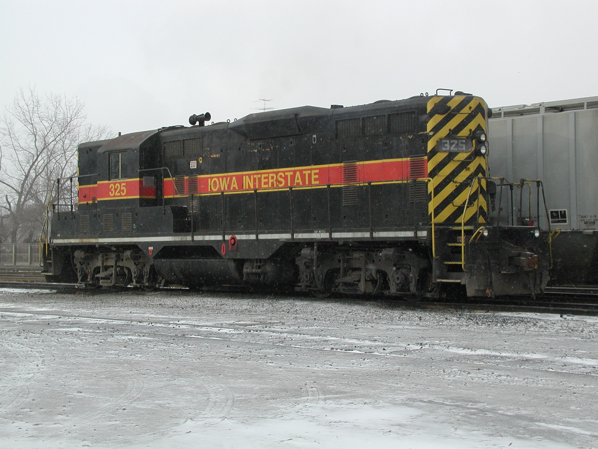 IAIS 325 at Iowa City, IA on 23-Dec-2001