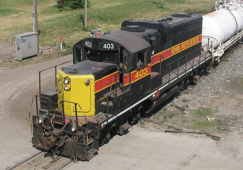 IAIS 403 at Rock Island, IL on 22-Jun-2005