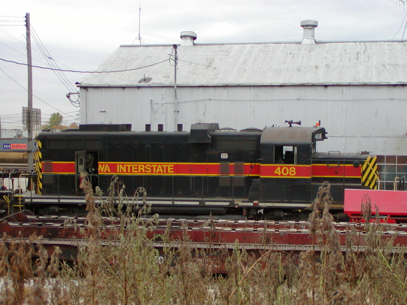 IAIS 408 at Council Bluffs, IA on 04-Oct-2001