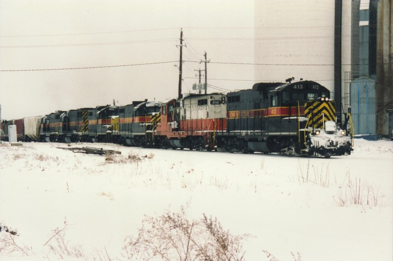 IAIS 414 at Altoona, IA on 01-Jan-1993