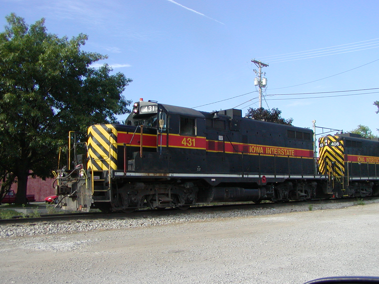 IAIS 431 at Iowa City, IA on 18-Jul-2001
