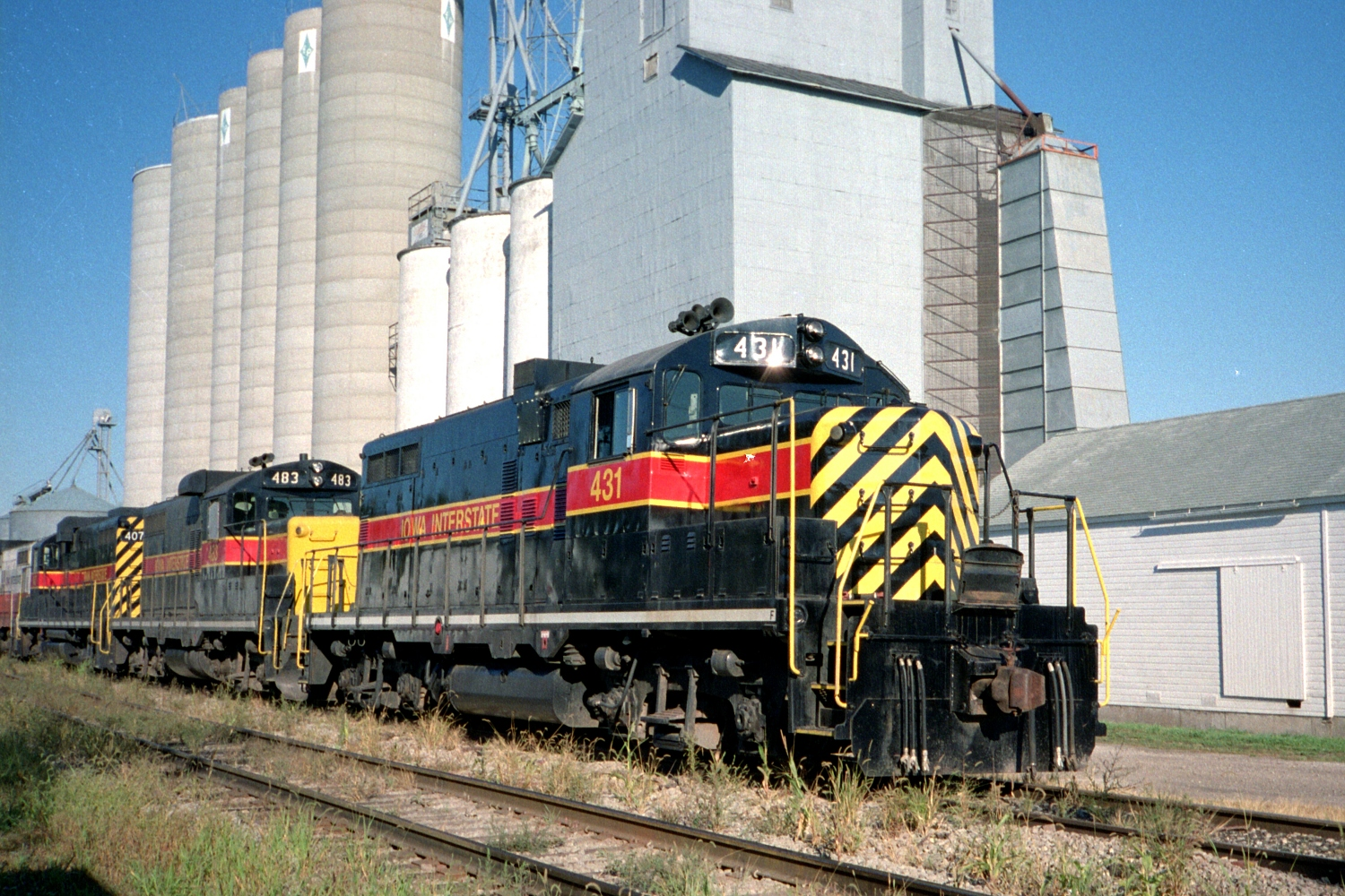 IAIS 431 at Walcott, IA on 01-Aug-1990