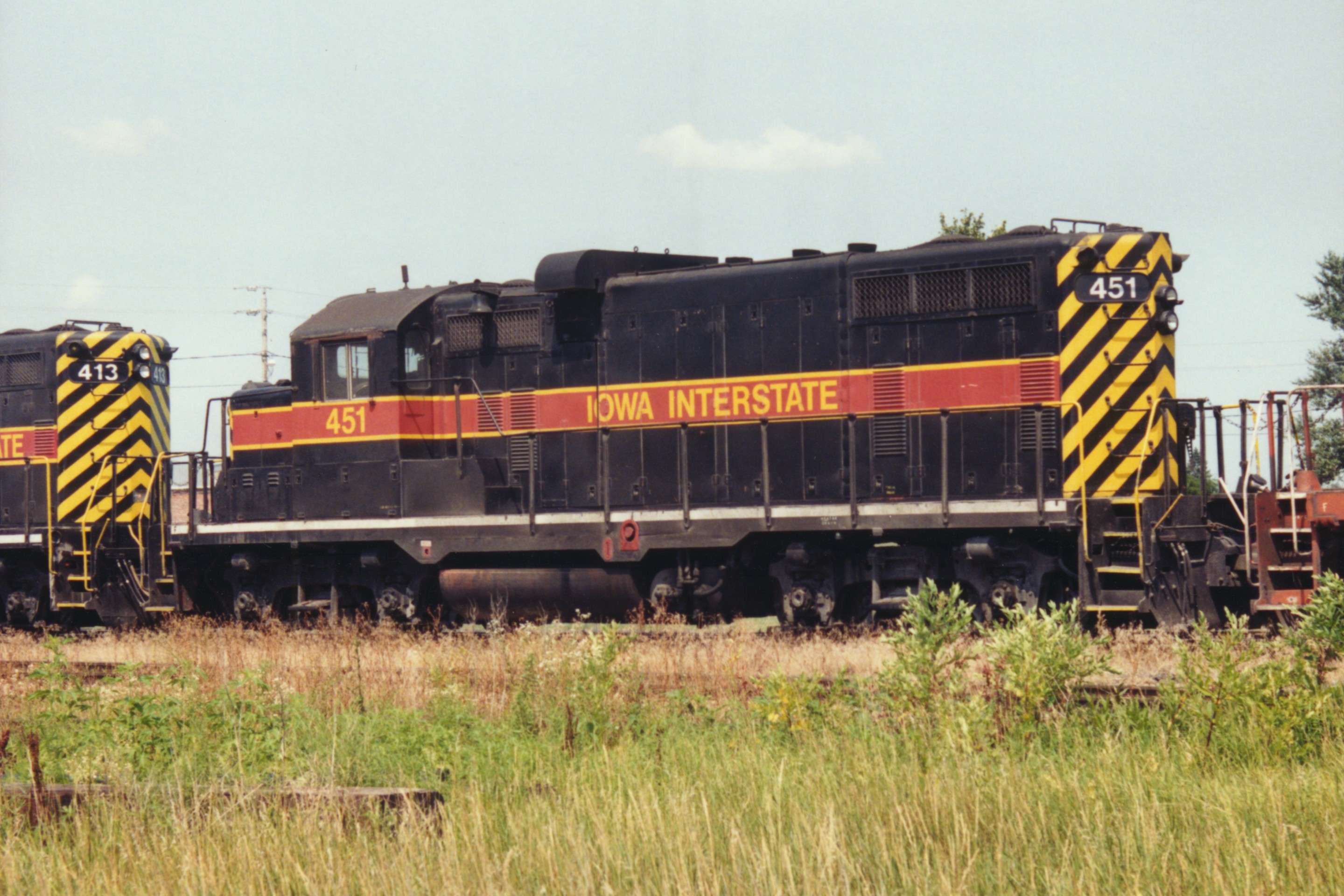 IAIS 451 at Altoona, IA on 28-Jul-1994