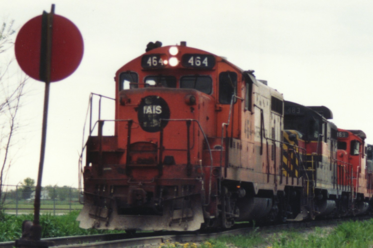 IAIS 464 at Altoona, IA on 01-May-1993