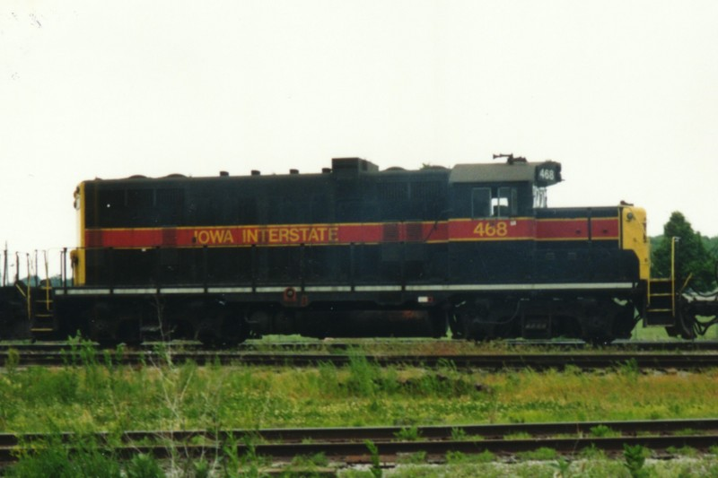 IAIS 468 at Altoona, IA on 01-Jun-1992