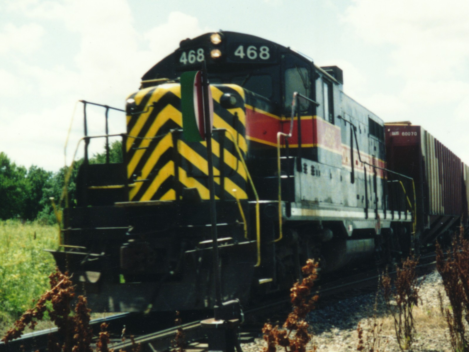IAIS 468 at Altoona, IA on 01-Jul-1992