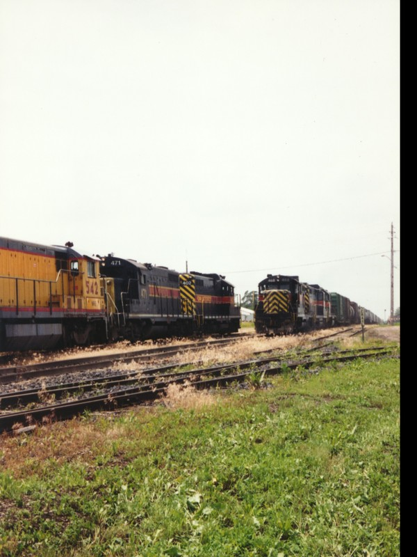 IAIS 468 at Altoona, IA on 23-Jun-1993