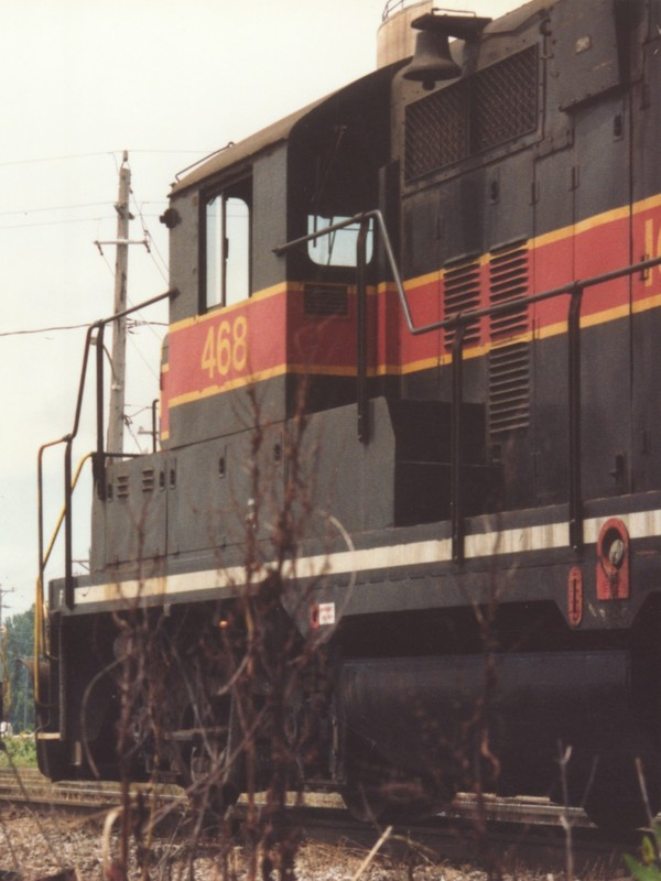 IAIS 468 at Altoona, IA on 08-Jul-1993