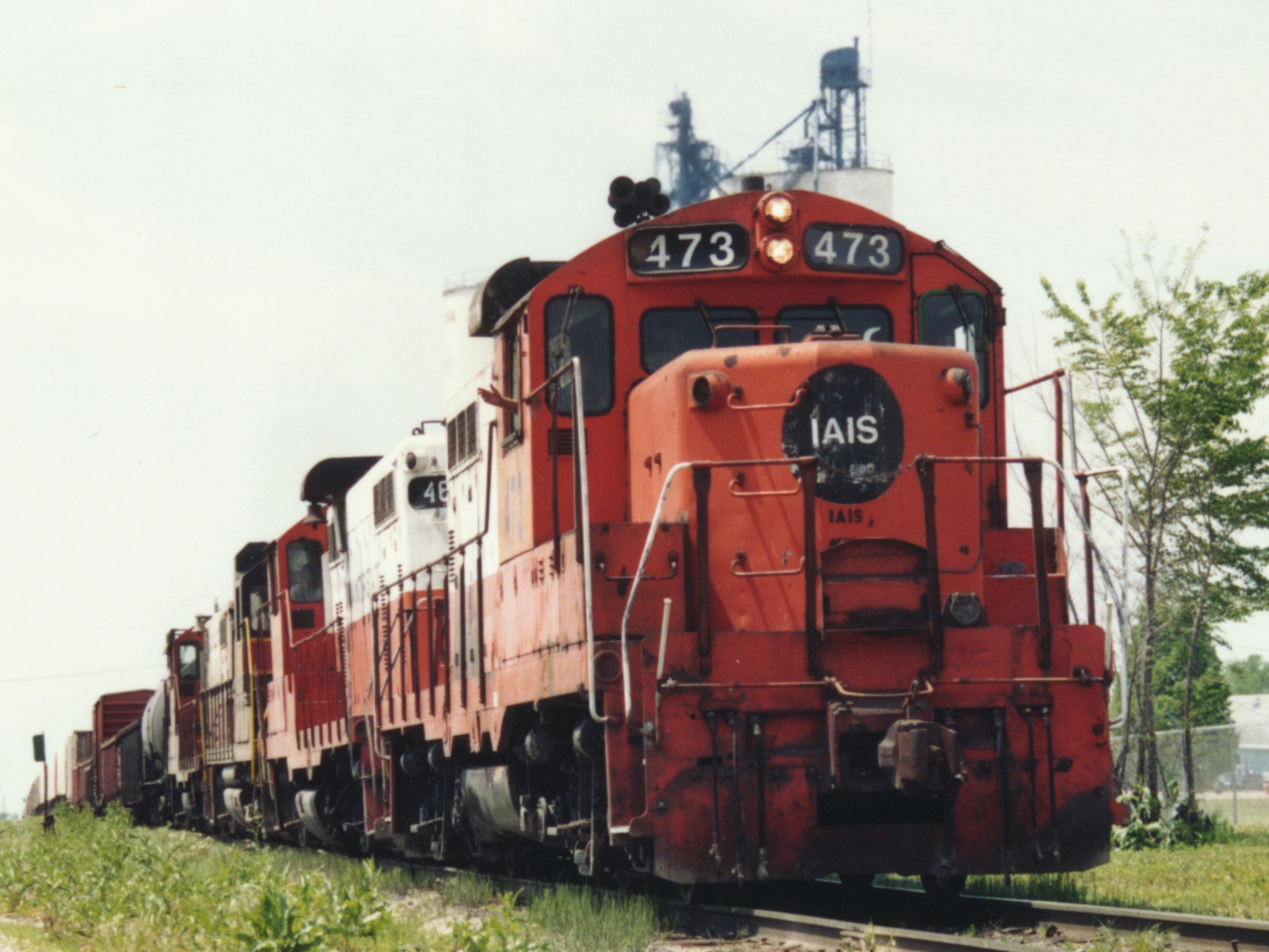 IAIS 473 at Altoona, IA on 01-May-1993